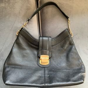 Calvin Klein Black Leather Purse